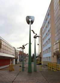 socha Jiřího Nováka - Křídla