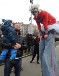 Tradiční masopust na Praze 3