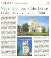 Po stopách pražského vodárenství recenze v Metru