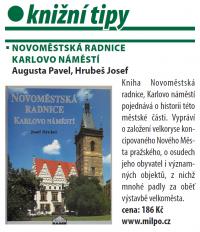 recenze knížky Novoměstská radnice - Karlovo náměstí